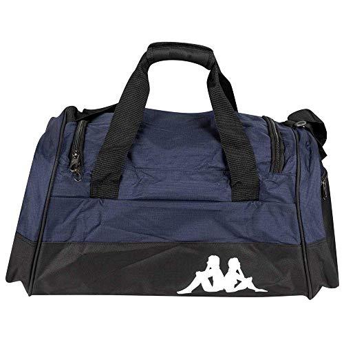 Kappa BRENNO Sporttasche, Unisex, Erwachsene, Blue/Schwarz, FR: L (Größe Hersteller: L)