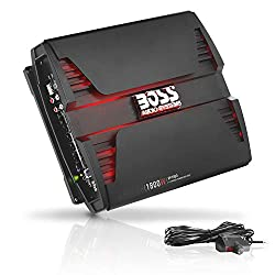 top 10 boss audio b9351wrc BOSS Audio Systems PF1800 4-Channel Car Amplifier – 1800 W Full Range, Class AB, 2-4 ohms…