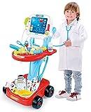 Enfants Docteurs Set Médical Set De Jeux Chariot Jeux De Rôle 660-46