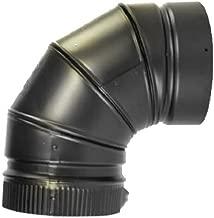 Selkirk Metalbestos 266230 6-Inch 90 Elbow Matte Black