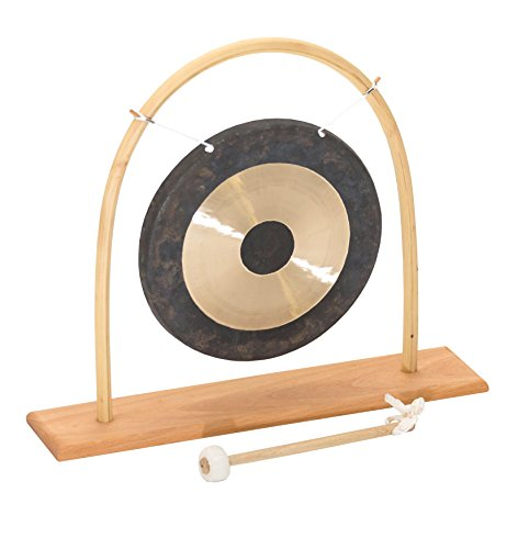 Chao (Tamtam) Gong T-25 + Rattan Ständer S-25