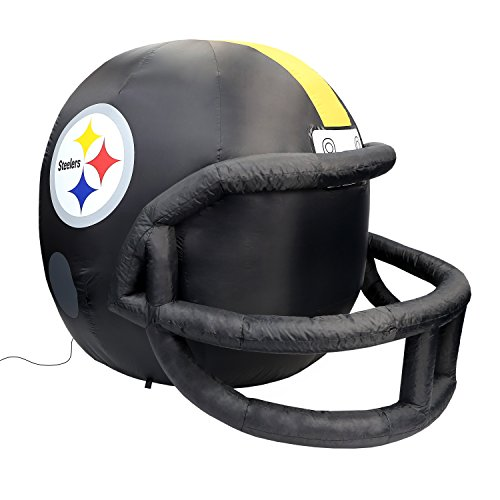 Fabrique Innovations NFL Inflatable Lawn Helmet, Pittsburgh Steelers
