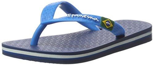 Ipanema Unisex Classic Brasil II Kids Zehentrenner, 8078 Blue/Blue, 37 EU