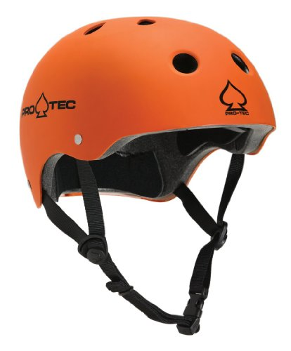 Pro-tec Skate-/Bikehelm The Classic, matte orange 12, 53-54 cm, VDW85VE