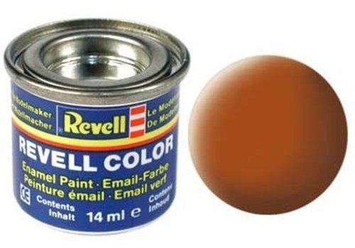Revell Enamels 14m braun, matt Farbe