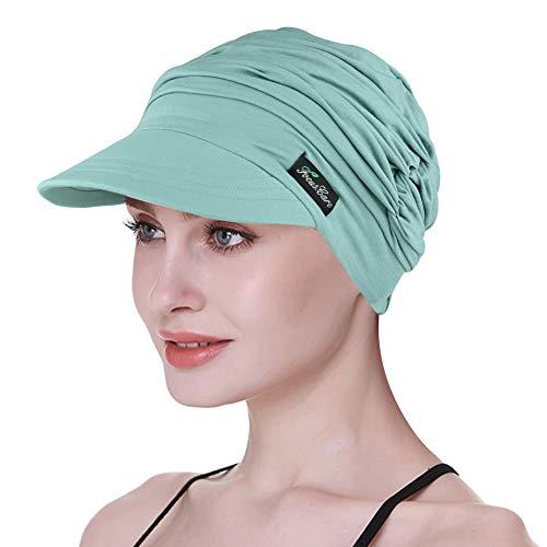FocusCare Gorra de béisbol de bambú para Mujeres de quimioterapia Easy Wear Cubre Cabeza para Pacientes Pérdida de Cabello Clásico algodón Gorra Regalos médicos