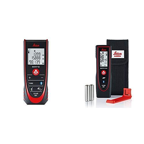 Leica DISTO D2 - Laserdistanzmesser mit automatischer Endstückerkennung & Leica DISTO D110 - Laserdistanzmesser für Distanz- und Flächenmessungen