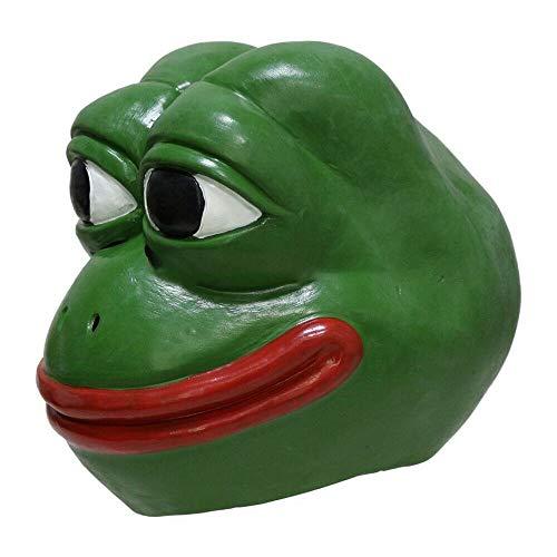 YO Frosch Maske - Neuheit Halloween Kostüm Party Latex Tier Maske Ganzkopf für Erwachsene