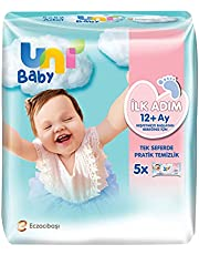 Uni Baby İlk Adım Islak Mendil 5'li 260 Yaprak