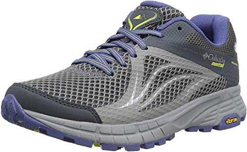 Columbia Mojave Trail II Outdry, Zapatillas de Running para Asfalto Mujer, Gris (Ti Grey Steel 033), 36.5 EU