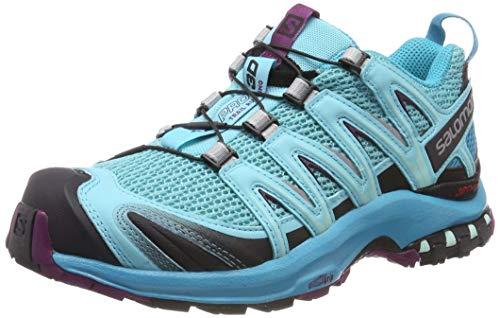 adidas XA Pro 3D W, Chaussures de Trail Femmes, Blue Curacao/Bluebird/Dark Purple 000, 36 2/3 EU