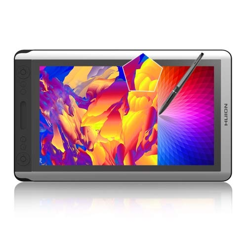 Generic HUION Kamvas Series GT-156HD V2 15,6 pulgadas 5080LPI Graphics Drawing Tablet Digital Display for Windows/Mac OS, with Digital Pen
