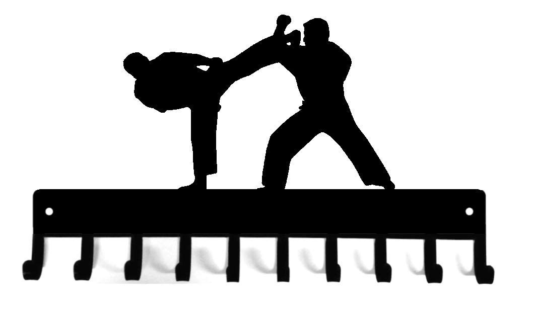 Sparring Sports Blue w//White Stripe Martial Arts Single Wrap Taekwondo//Karate Belt