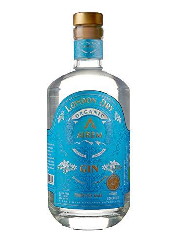 London Dry Gin Ecológica Ultra Premium AIREM. Ecológica, Kosher, Sin Gluten, 700ml