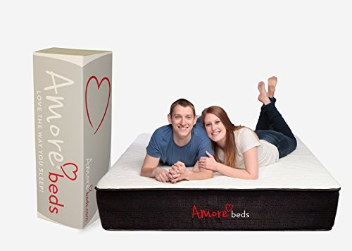 Amore Beds Copper-Ion Infused Best Hybrid Mattress (Soft, King)