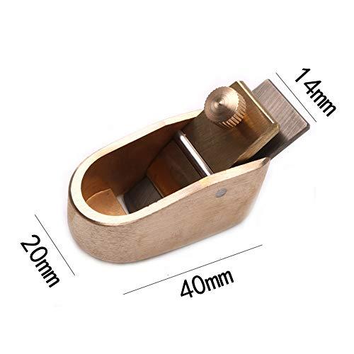 ETbotu Violine-gereedschap, mini-vliegtuig, messing, houtbewerking, 3# (lemmet 14 mm)