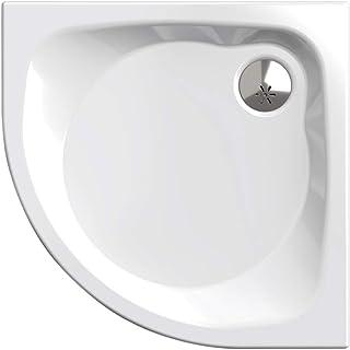 Piatto doccia, il quadrante 90 x 90 cm | Nordona® SIMPLEX PLUS| Set completo compreso Siphone Viega Tempoplex | costruzion...