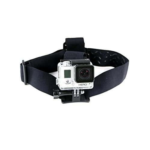 AEE Technology B10 Headstrap Mount for AEE Action Cams & GoPro (Black)