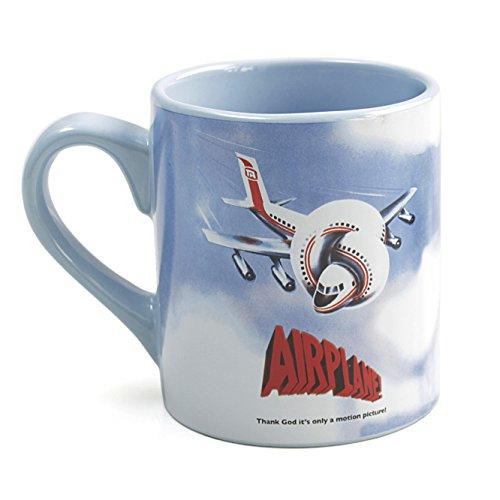 Airplane Movie Logo Ceramic 14 Ounce Coffee Mug