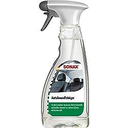SONAX AutoInnenReiniger (500 ml) entfernt schonend und gründlich selbst hartnäckigen Schmutz im gesamten Innenraum | Art-Nr. 03212000