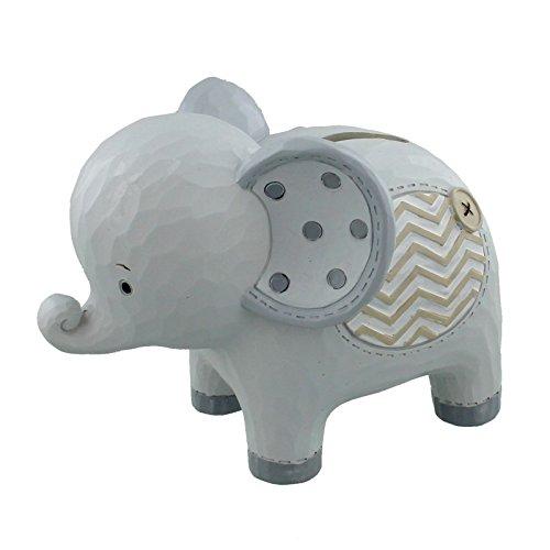 Noah's Ark Spardose Elefant Kunstharz