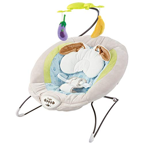 visdron Baby Swing Chair for Infants, Swing Chair for Baby, Electric Portable Baby Swing Cradle for Infants Rocker Swing Chair with Music 27.5x25x21inch