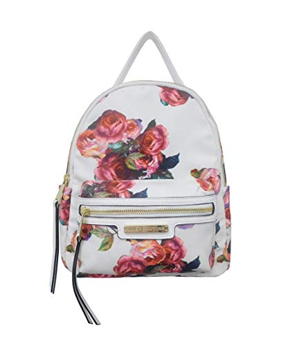 Juicy Couture Rosie Backpack White/Rose Print One Size