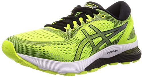 ASICS Herren Gel-Nimbus 21 Laufschuhe, Gelb (Safety Yellow/Black 750), 46.5 EU