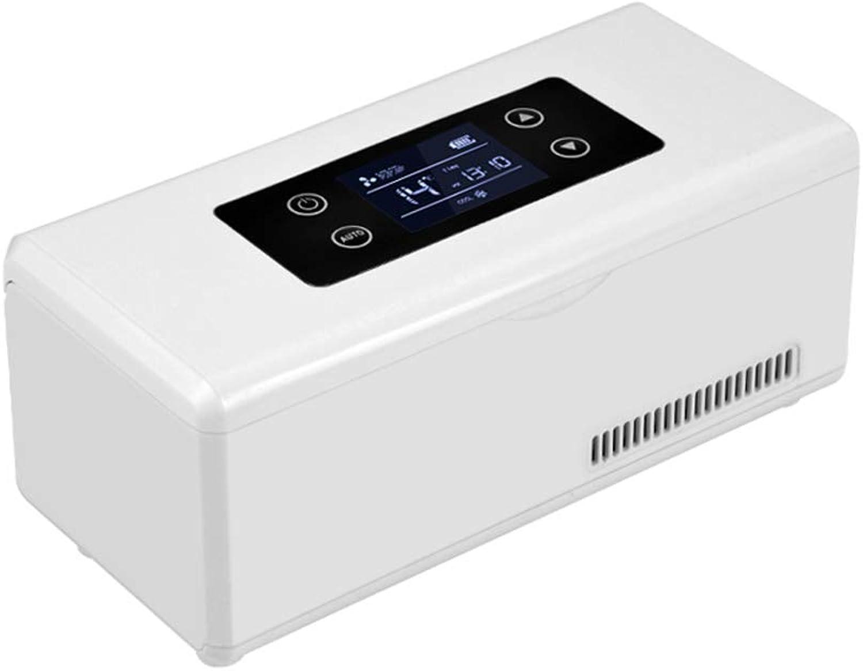 CGoldENWALL Isolierte Kühlbox, 190 x 62 x 30 mm, tragbar, intelligente Kühlbox, Interferon Drogenreefer Thermostat 2–8 °C unter 25 °C