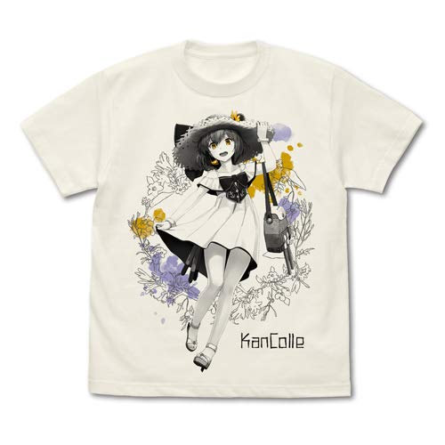 艦隊これくしょん -艦これ- 雪風 Tシャツ 夏のお嬢さんmode/VANILLA WHITE-M