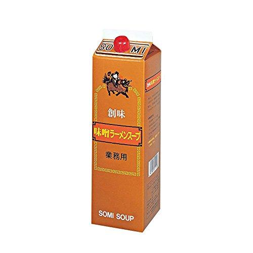 【常温】 創味食品 味噌ラーメンスープ 2kg 業務用 スープ ( ラーメンスープ )