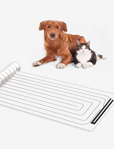 Cobito Scat Shock Mat for Dogs and Cats, Pet Electronic Training Pad, 48 X 16.5 inch, Couch Size, Keep Pets Off Furniture, Indoor Use for Sofa, Couch, Doorways.