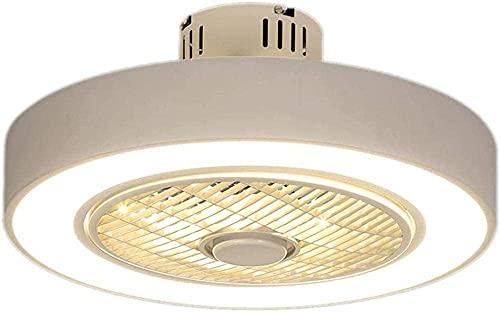 Control remoto atenuación 50 cm moderno ventilador de techo hermosa lámpara ventilador para restaurante dormitorio decoración | ventiladores de techo 50 cm