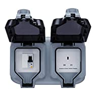 MODE 2, SAFE AND COMPACT ELECTRIC VEHICLE CHARGING UNIT FROM MASTERPLUG: For home installation, compatible with all mode 2 EV charging cables with a standard household socket-outlet with an in-cable protection device and a power level control IP66 WA...