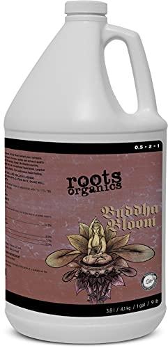 Roots Organics Buddha Bloom, Organic Liquid Fertilizer, 0.5-2-1 NPK, 1 Gallon