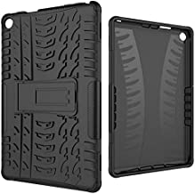Tablets & e-Books Case - Case For 2017 Kindle Fire HD 8 HD8 2018 Tablet Case TPU + PC hybrid Rugged Rubber Heavy Duty Armo...