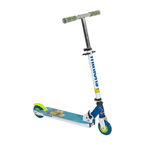 Minions 8004-07TJ Scooter, 4', White/Blue/Yellow