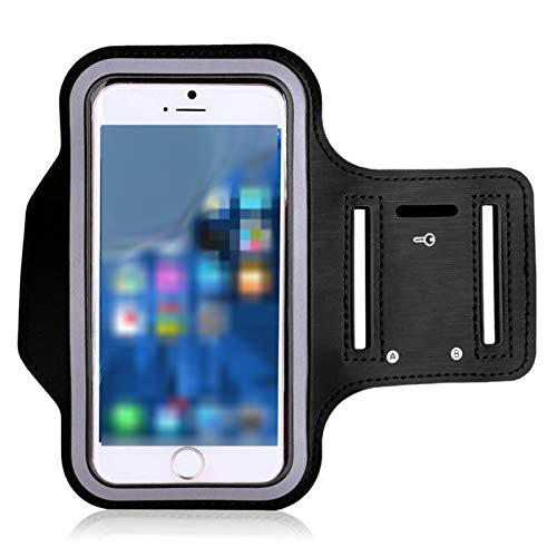Bolsas Sillin Moto Estuche para teléfono en mano Universal Deportes Armband Caja con cremallera Fitness Running Brazo Bolso Bolso de banda de 5,5 pulgadas para la venta de teléfonos móviles Bolsa de s