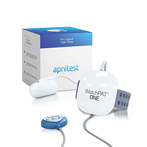 Home Sleep Apnea Test Diagnostic Machine (HSAT): Watchpat One at Home Sleep Study Kit by Itamar Medical. Tests The Need for A CPAP Or Other Sleep Solution