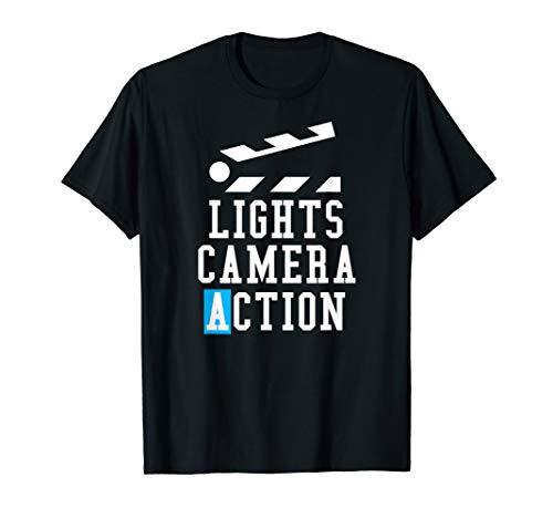 Lights Camera Action Clapper Board - Film Crew Director Gift