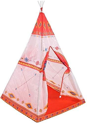 Kids Tent for kinderen Ruimte for Folding Game Tenten Room etnische stijl Indische Tent PVC Pole Decoratie van het Ontwerp Teepee met draagtas for Meisjes Jongens Childrens Teepee Girls And Boys