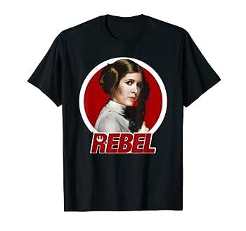 Star Wars Princess Leia Original REBEL Badge Graphic T-Shirt T-Shirt