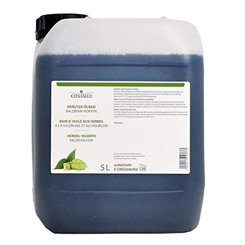 Kräuter-Ölbad Baldrian-Hopfen 5 Liter 1 Kanister Badezusatz