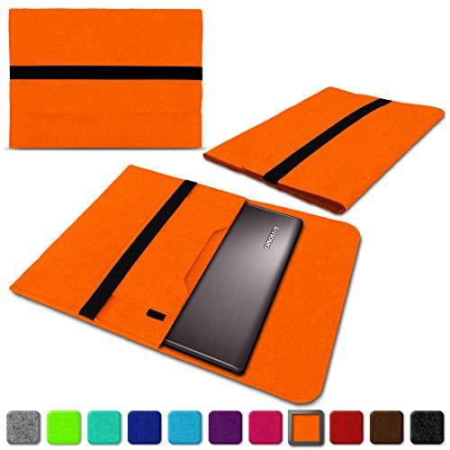 NAUC Lenovo Thinkpad Yoga 370 Tasche Hülle Filz Sleeve Case Schutzhülle Notebook Cover, Farben:Orange