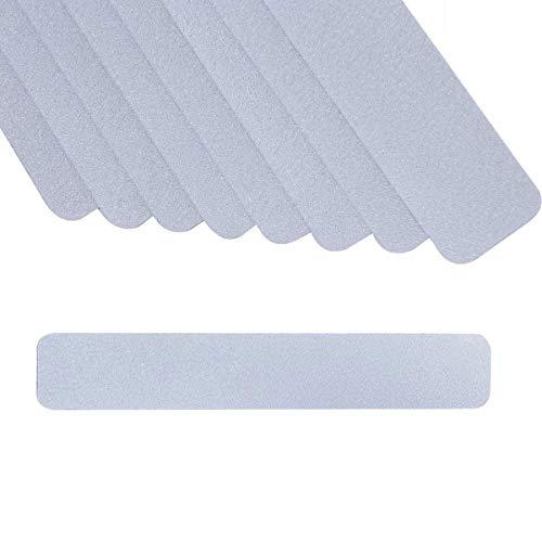 Anti-Rutsch-Sticker für Badewannen, ONTWIE Anti Rutsch Streifen für Treppen und Bad 8 Stücke, Transparente und Selbstklebende Antirutsch Klebestreifen für Dusche und Badewanne