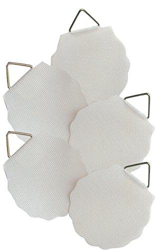 AVERY Zweckform 3731 Bildaufhänger (bis zu 1,2 kg) 5 Aufkleber weiß