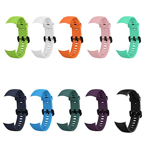 Silikon Armband für honor band 5/4 weiches Band Ersatz (10 Farbe)