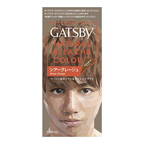 GATSBY(ギャッツビー) ナチュラルブリーチカラー