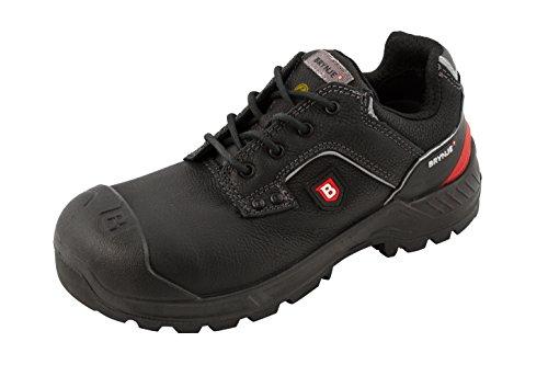 Brynje Robusto Calzado de Seguridad S3 Negro - Negro (Negro), 40 UE