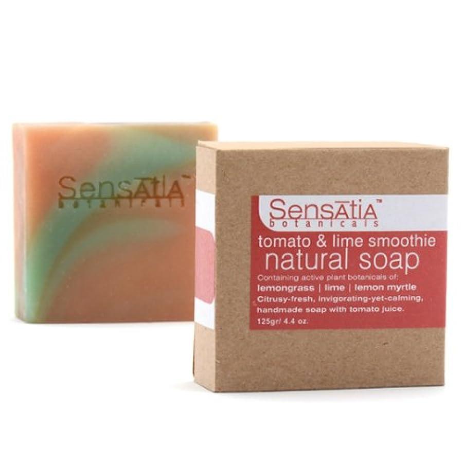 ライムホップ吸収剤Sensatia(センセイシャ) フレーバーソープ トマト&ライムスムージー 125g